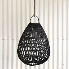 Anar Droplet Light Shade in Black l Pre Order