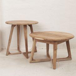 Arlin Round Coffee Table 65cm | Custom Made