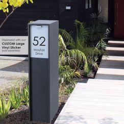 Austin Parcel Letterbox   Available in 3 colours