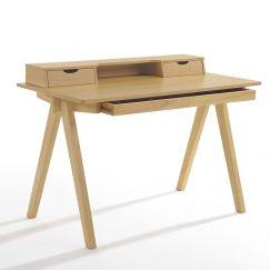 Axel Study Desk Console 1.2M   White Oak   Modern Furniture