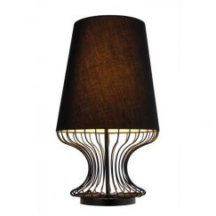 Bacchus Table Lamp | Black