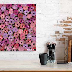 Bachelor Buttons I | Unframed Print