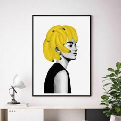 Bananas by Peytil | Unframed Art Print