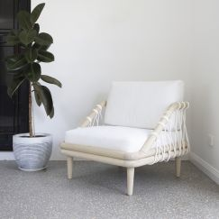 Barbados Single Seat Lounger | by Fifty Shades Interiors