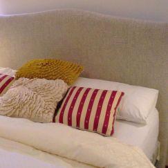 Bella Warwick Fabric Bedhead   Custom Made by BedsAhead   Various Sizes