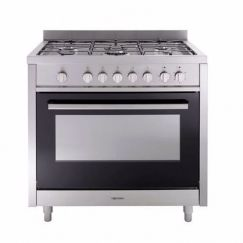 Bellissimo Upright Oven Dual Fuel 5 Function 90cm
