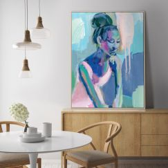 Big Bun | Donna Weathers | Canvas or Print by Artist Lane
