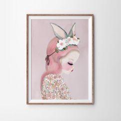Bilby Belle (Pink) Art Print   Various Sizes