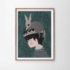 Bilby Boy Art Print | Various Sizes