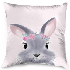 Billie The Bunny   Cushion By United Interiors