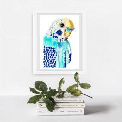 Bluey | Art Print by Grotti Lotti
