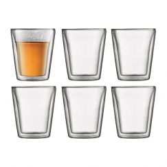 Bodum Canteen | 6 pcs Glass |  Medium 0.2 l, 6 oz