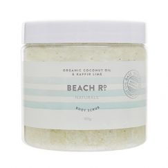 Body Scrub | Organic Coconut and Kaffir Lime | 300g | by Beach Road Naturals