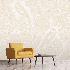 BoHo - Gold/White | WALLPAPER