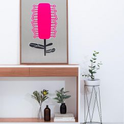 Bottlebrush Silkscreen Print | Unframed