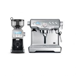 Breville Dynamic Duo Stainless Steel Coffee Maker & Smart Grinder