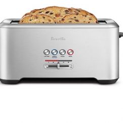 Breville Lift & Look Pro Slice Long Slot Toaster   Stainless Steel