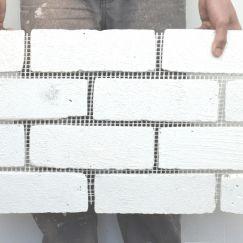 Brick Facings on Mesh   Traditional Limewash   by Briclad