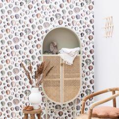 Captain Thomas Browns Shells Wallpaper | Oyster