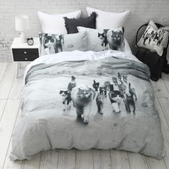 Cat Mob Quilt Cover Set | CLU Living