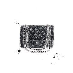 Chanel Bag | Limited Edition Unframed Print