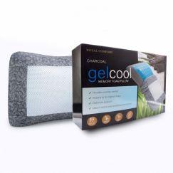 Charcoal Gelcool Memory Foam Pillow | Single Pack | Royal Comfort