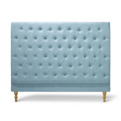 Charlotte Chesterfield Bedhead   Double   Teal   by Black Mango