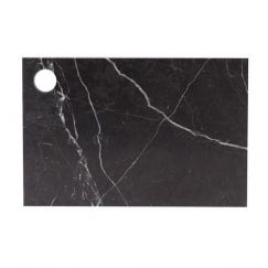 Cheeseboard in Nero Marquina Marble | Behr & Co