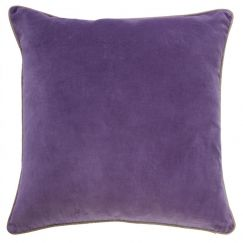 Chloe Classic Velvet Lilac Cushion | by Canvas & Sasson