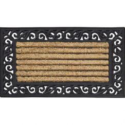 Coir Rubber Scroll Door Mat | Schots