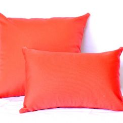 Coral | Sunbrella Fade and Water Resistant Outdoor Cushion