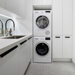 Courtney and Hans | Laundry Build | Freedom Kitchens