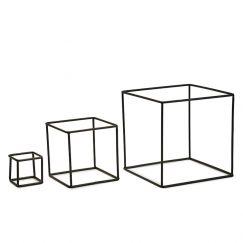 Cubes | 3 Set | by Bendo | Black