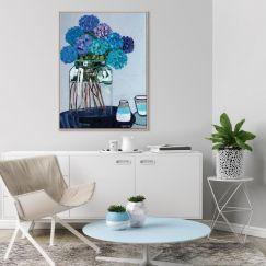 Daile's Hydrangeas | Anna Blatman | Canvas or Print by Artist Lane