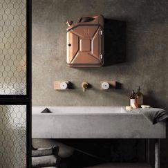 Danish Fuel Bathroom Cabinet | Copper