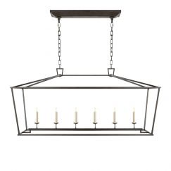 Darlana Linear Pendant | by The Montauk Lighting Co.
