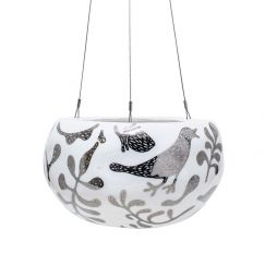 Decorative Pebble Hanging Planter by Angus & Celeste | Silver Serpent