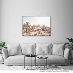 Desert Haze   Canvas Print by United Interiors