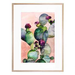 Desert Rose II   Art Print By United Interiors