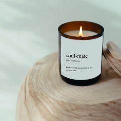 Dictionary Meaning Soy Candle | Soul-Mate