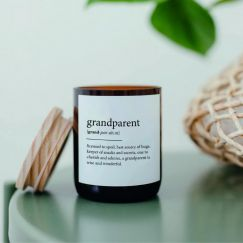 Dictionary Mid Soy Candle | Grandparent