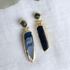 Dione Double Drop Earrings l Pre Order