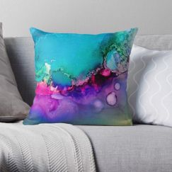 Drifting III | Art Cushion | Celeste Wrona