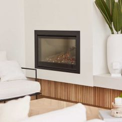 DS Series   Frameless Gas Fireplaces   DS1400 Single Sided