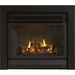 DV36L Legend Gas Fire Series 3 (2 Speed Fan) | Black | Schots