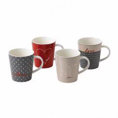 ED Ellen DeGeneres collection - Mug 450ml Signature Set of 4