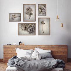 Everlasting Gallery Wall | Set of 5 Art Prints | Framed or Unframed