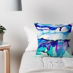 Exhale | Art Cushion | Celeste Wrona