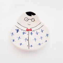 Face Dish | Glasses and Shirt