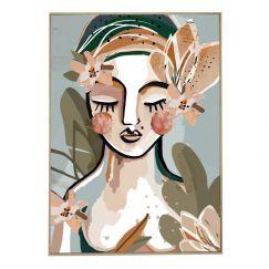 Felicia | Framed Canvas Print